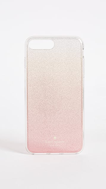Kate Spade New York Pink Glitter Ombre iPhone 7 Plus / 8 Plus Case