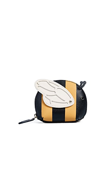 Kate Spade New York 3D Bee Coin Purse