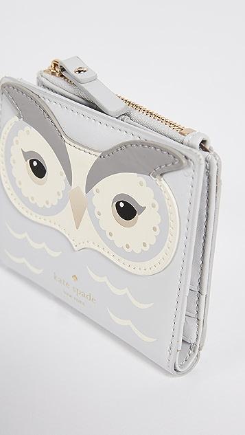 Kate Spade New York Star Bright Owl Adalyn Coin Purse