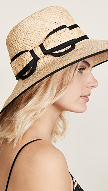 Kate Spade New York Olive Drive Sun Hat - Natural