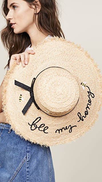 Kate Spade New York Bee My Honey Sun Hat