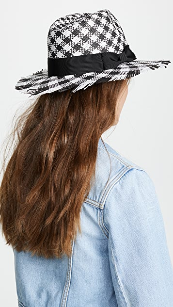 Kate Spade New York Gingham Trilby Hat