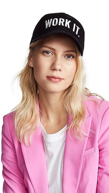 Kate Spade New York Work It Baseball Cap