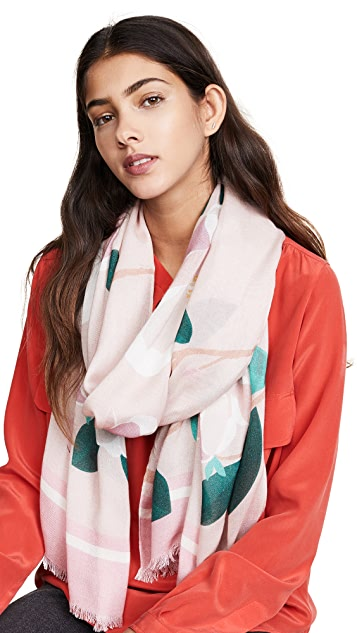 Kate Spade New York Magnolia Oblong Scarf
