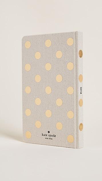 Kate Spade New York 2018 Dot Agenda