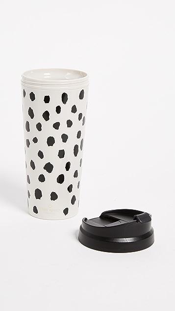 Kate Spade New York Flamingo Dot Thermal Mug