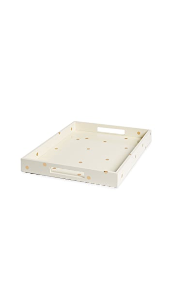 Kate Spade New York Dots Large Tray