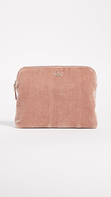 Kate Spade New York Watson Lane Briley Velvet Makeup Bag
