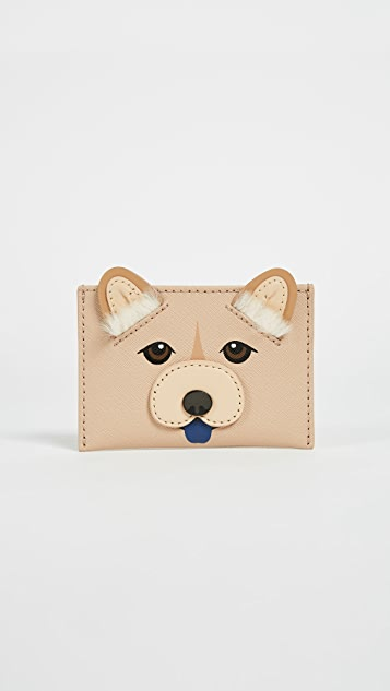 Kate Spade New York Year of the Dog Applique Card Holder