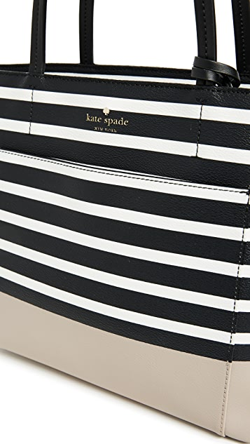 Kate Spade New York Hyde Lane Dipped Small Riley Tote