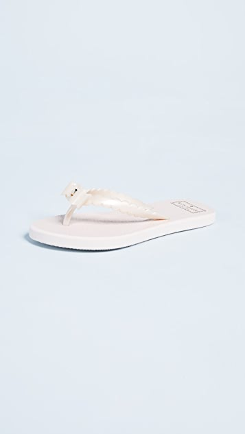 Kate Spade New York Denise Bow Flip Flops