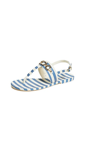 Kate Spade New York Polly Striped Sandals