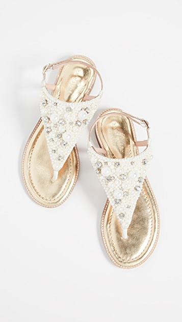 Kate Spade New York Sama Imitation Pearl Sandals