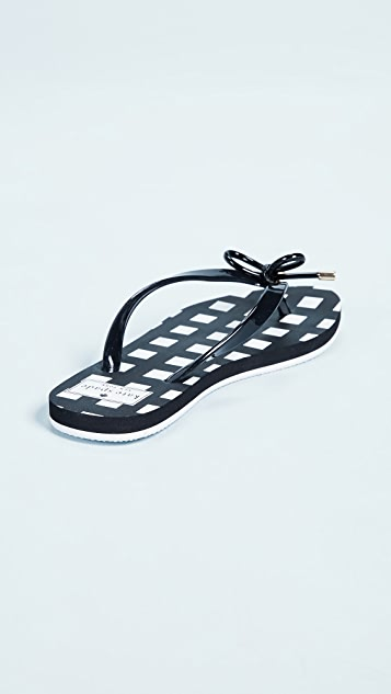 Kate Spade New York Nova Printed Flip Flops