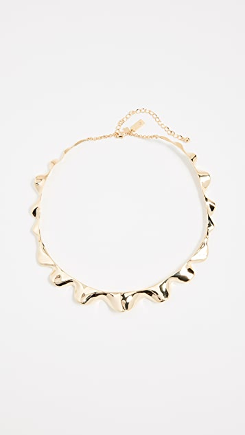 Kate Spade New York Frilled to Pieces Crew Necklace