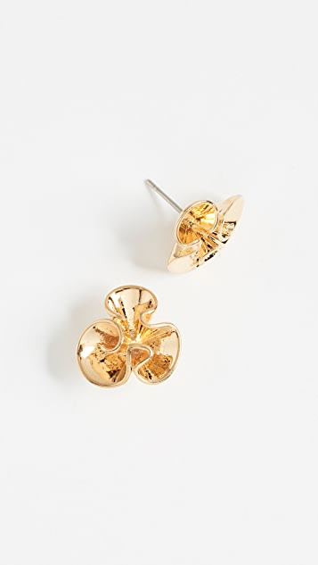 Kate Spade New York Frilled to Pieces Mini Studs