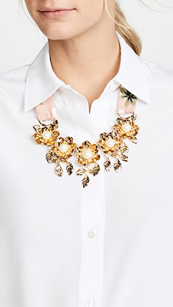 Kate Spade New York Lavish Blooms Statement Necklace