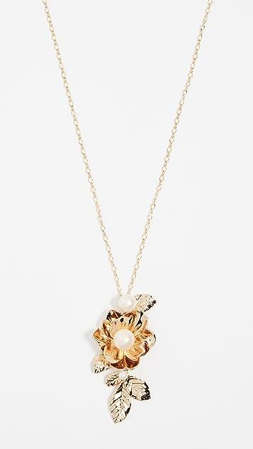 Kate Spade New York Lavish Blooms Pendant Necklace