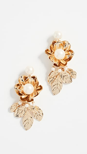 Kate Spade New York Lavish Blooms Statement Earrings