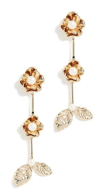Kate Spade New York Lavish Blooms Linear Earrings