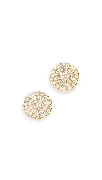 Kate Spade New York Shine On Pave Stud Earrings