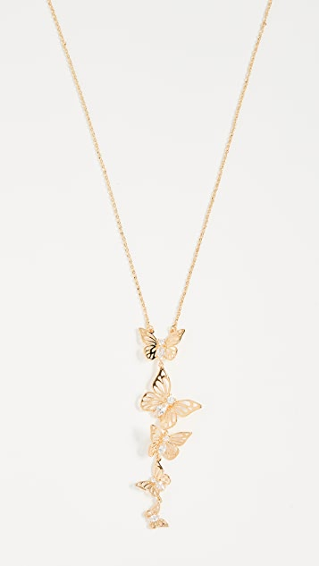 Kate Spade New York Social Butterfly Pendant Necklace