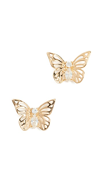 Kate Spade New York Social Butterfly Studs