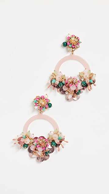 Kate Spade New York Vibrant Life Hoops