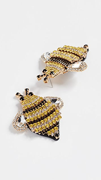 Kate Spade New York Picnic Perfect Bee Statement Studs