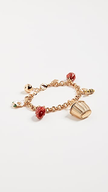 Kate Spade New York Picnic Perfect Picnic Charm Bracelet