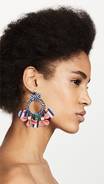 Kate Spade New York Set Sail Statement Hoop Earrings