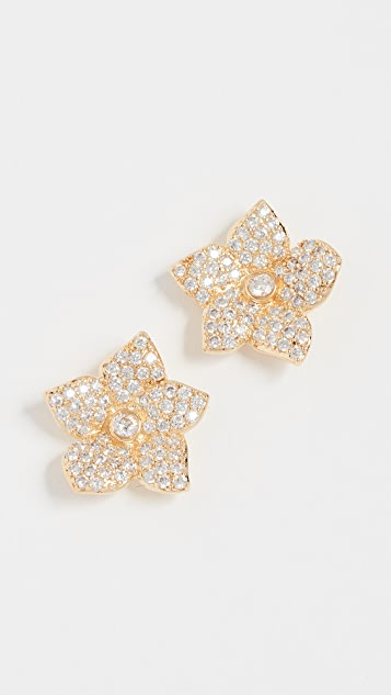 Kate Spade New York Blooming Pave Bloom Studs