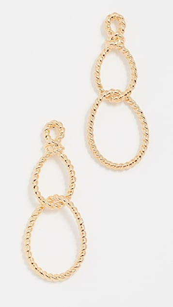 Kate Spade New York Sailor's Knot Statement Earrings