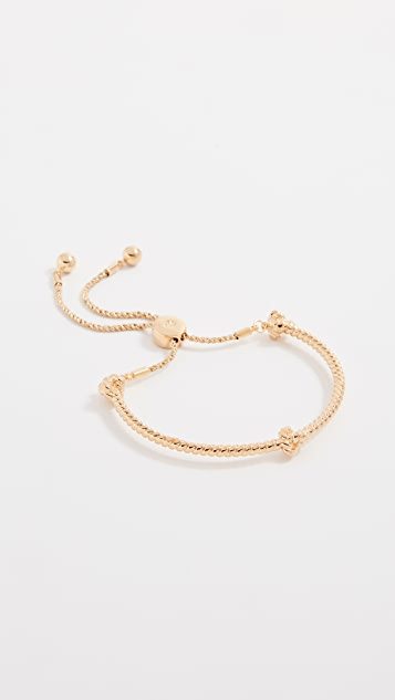Kate Spade New York Sailor's Knot Knot Slider Bracelet