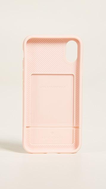 Kate Spade New York Flora Credit Card IPhone X Case