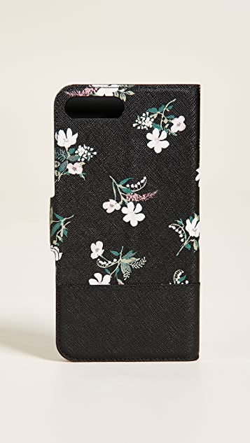 Kate Spade New York Flora Wrap Folio iPhone 8 Plus Case