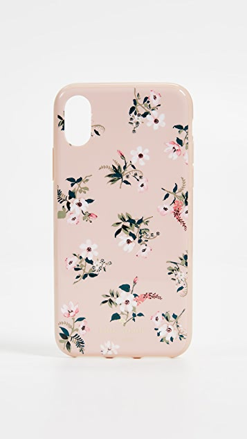 Kate Spade New York Flora iPhone X Case - Pink Multi