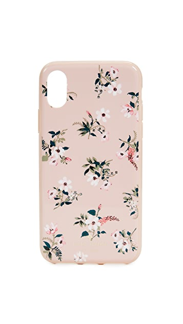 Kate Spade New York Flora iPhone X Case
