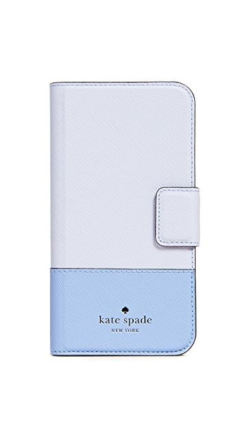 Kate Spade New York Leather Wrap iPhone X Case