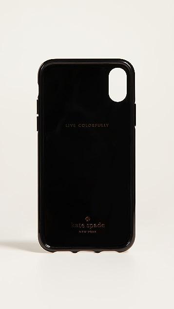 Kate Spade New York Jeweled Shopper iPhone X Case