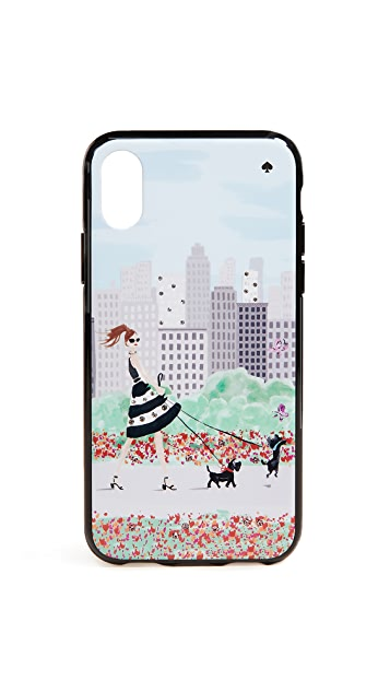 Kate Spade New York Jeweled Shopper iPhone X Case