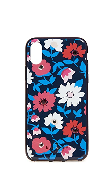 Kate Spade New York Crystal Daisy iPhone X Case