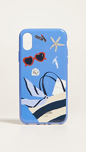 Kate Spade New York Beach Bag iPhone X Case