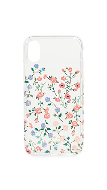 Kate Spade New York Mini Bloom Dip iPhone X Case