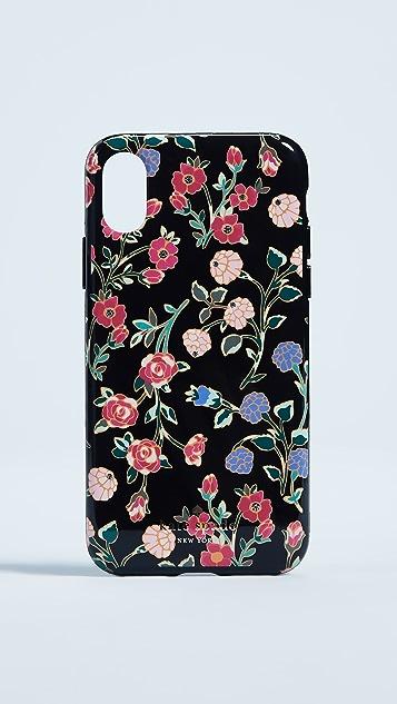 Kate Spade New York Crystal Mini Bloom iPhone X Case