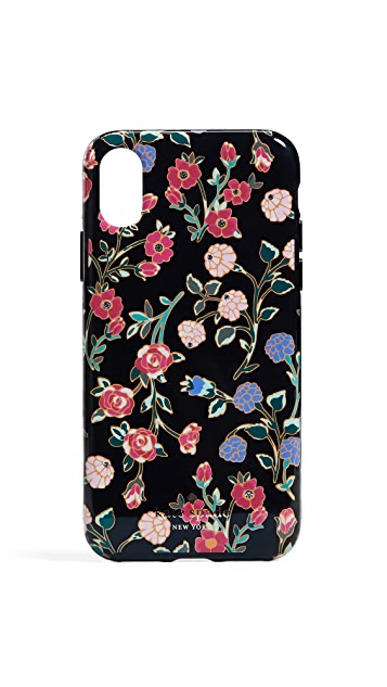 Kate Spade New York Crystal Mini Bloom iPhone X Case