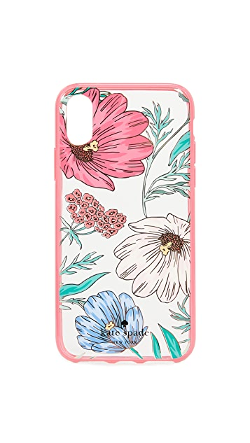 Kate Spade New York Blossom iPhone X Case
