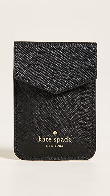 Kate Spade New York Envelope Sticker Phone Pocket