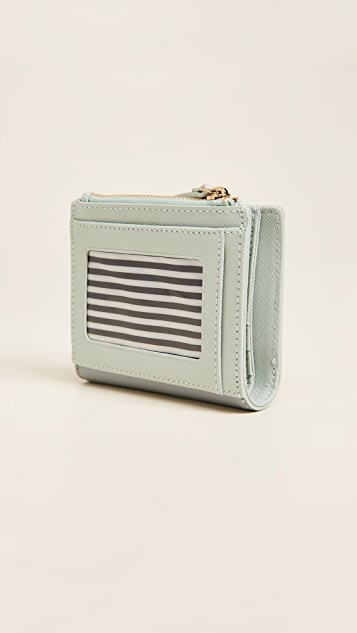 Kate Spade New York Checking In Pink Cadillac Adalyn Wallet