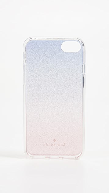 Kate Spade New York Sunset Glitter Ombre iPhone 8 / 7 Case